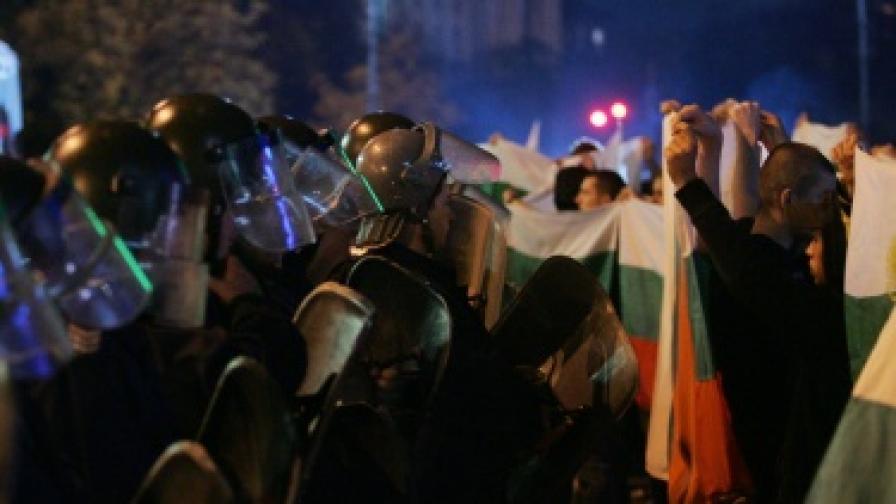 Безредици по време на протестите за Катуница в страната