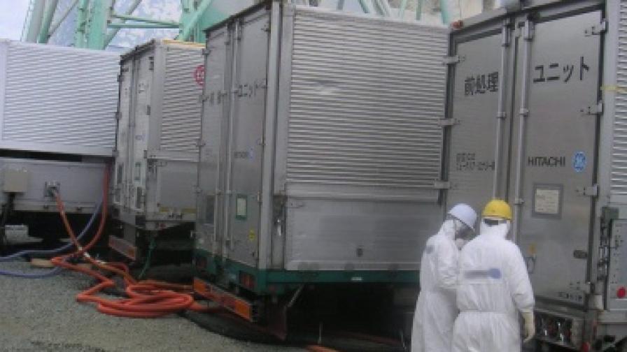 """II реактор на """"Фукушима-1"""" отново над 100 градуса"""