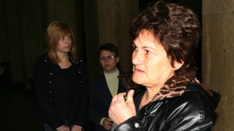 Майката на Стоян Балтов – Зарка Димова