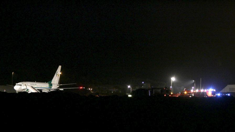 Евроконтрол: Проблемът с лазерното заслепяване на самолети става все по-сериозен
