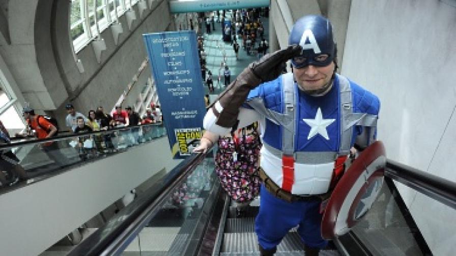 Арестуваха супергерой от Сиатъл