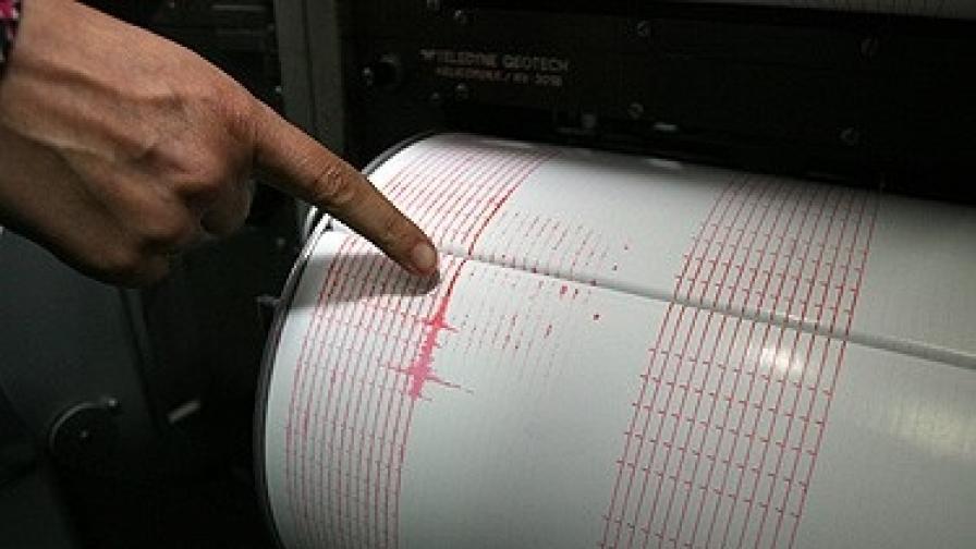 Земетресение в Североизточна България