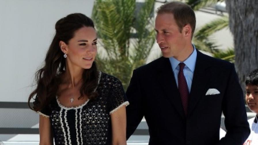Принц Уилям със съпругата си Кейт
