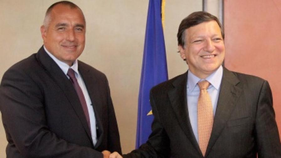 Борисов посреща Барозу