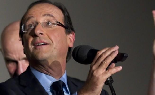 Франсоа Оланд ще е опонентът на Саркози