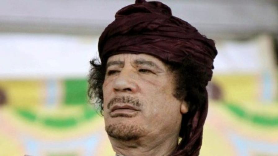 Последните мигове на Кадафи
