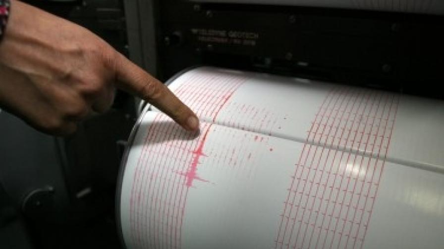 Три земетресения в България за близо 24 ч.