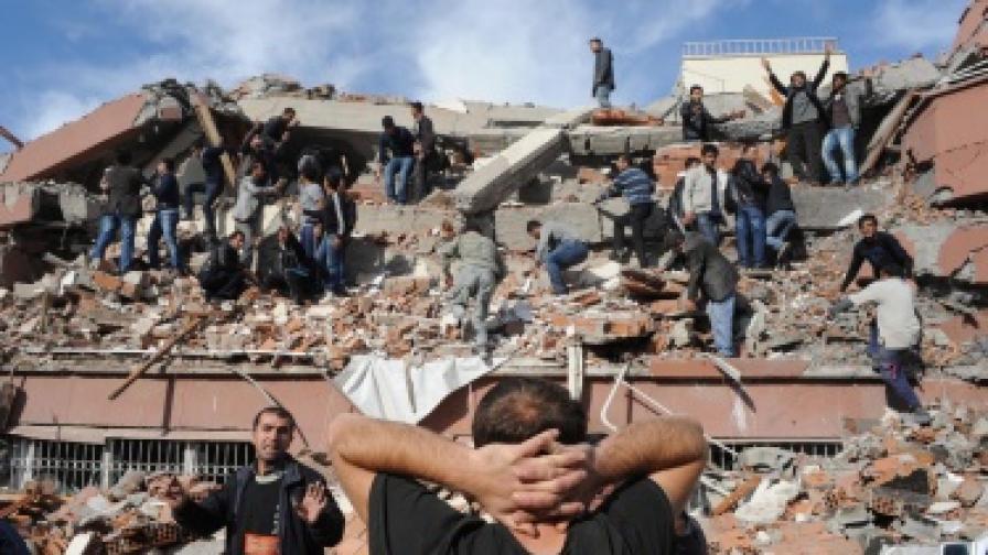 Турция отказва помощ за земетресението