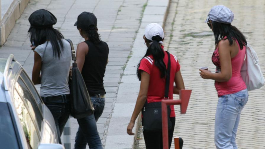 5% мъже и 70% роми сред проституиращите у нас