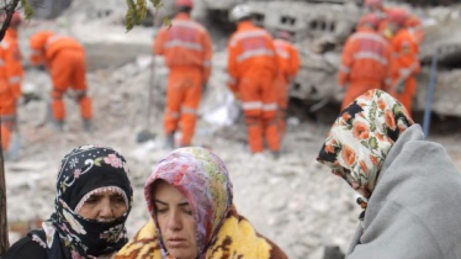 В Турция спасиха 19-годишен студент след 91 часа под развалините