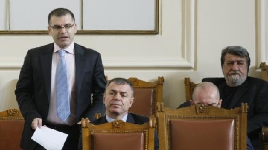 Бюджет 2012 мина на първо четене