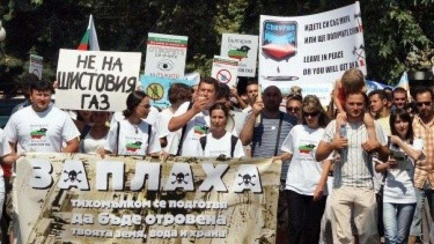 Б. Борисов: Ако приемете мораториум върху шистовия газ, ще го спазим