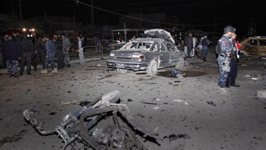 Експлозия избухна в иракския парламент