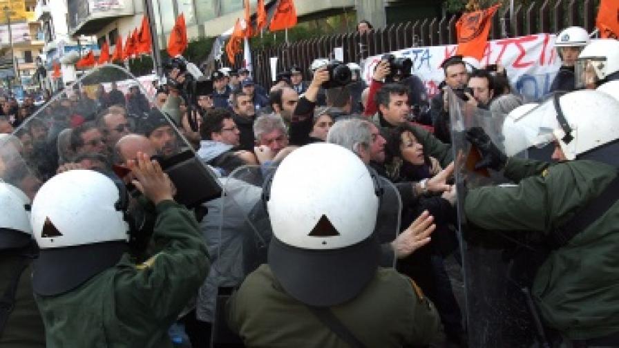 24-часова стачка парализира Гърция