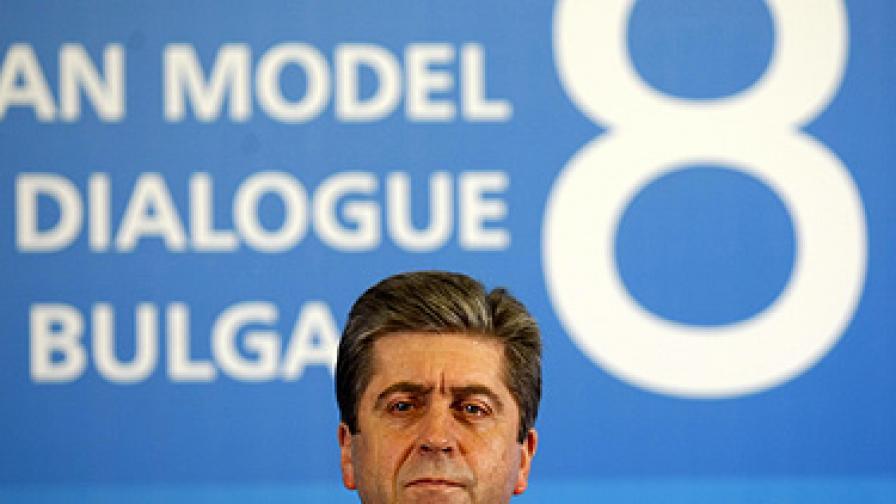 Първанов: Искам да формираме българска позиция