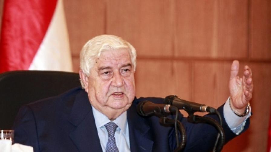 Сирия подписа плана за мир на Арабската лига