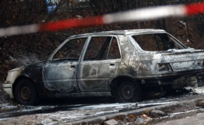 В София пак горяха коли
