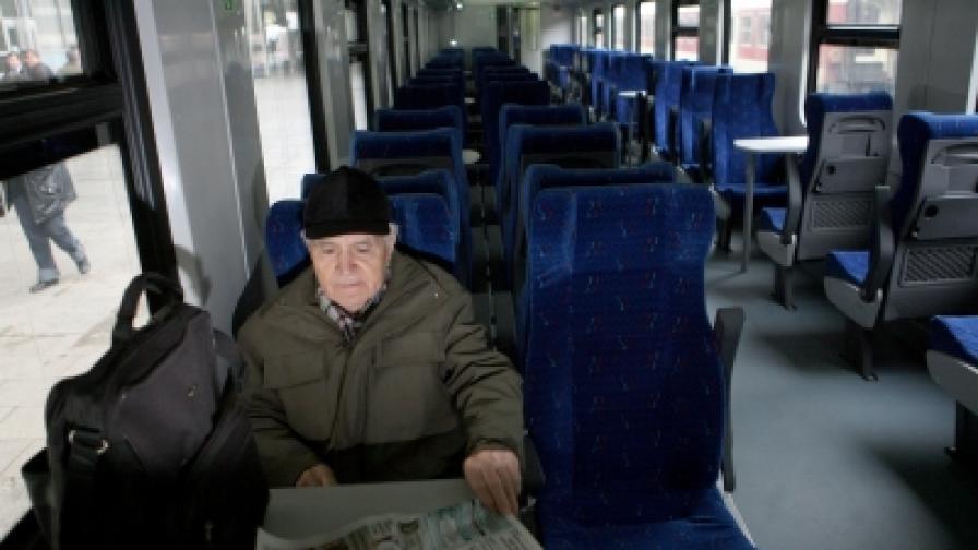 Цената на билетите за влак скача средно с 9% от 2012 г.