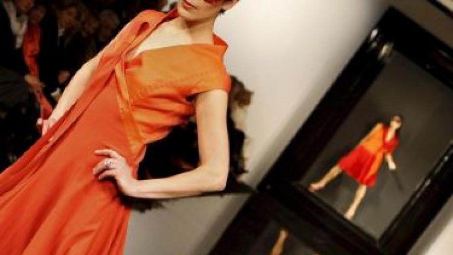 Мандаринено оранжево, клонящо към червено, е цветът на 2012 г.