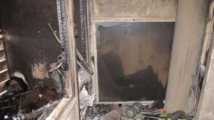 Седем души обгазени при пожар в Пловдив