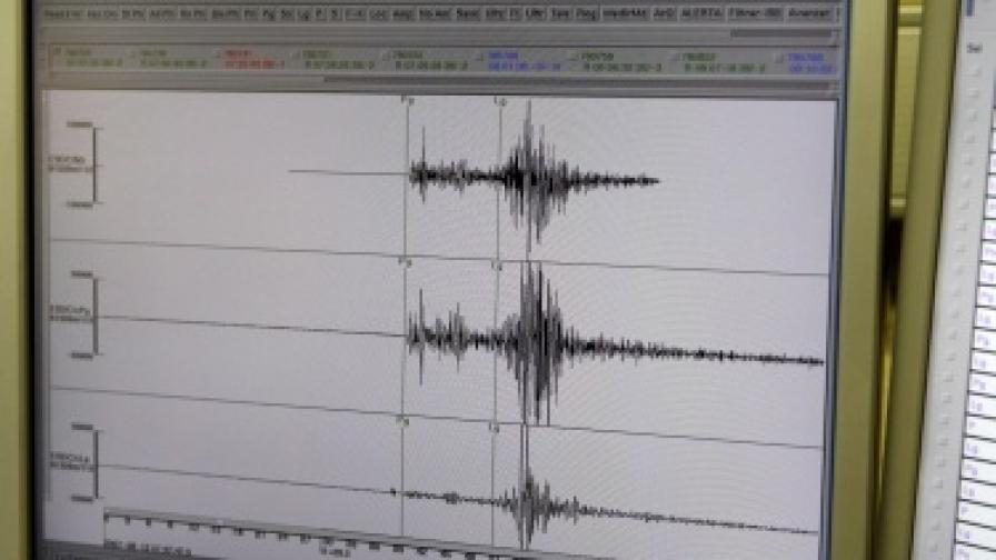 Слабо земетресение в Кресна