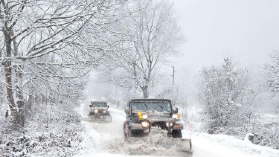 Снежната блокада взе първа жертва