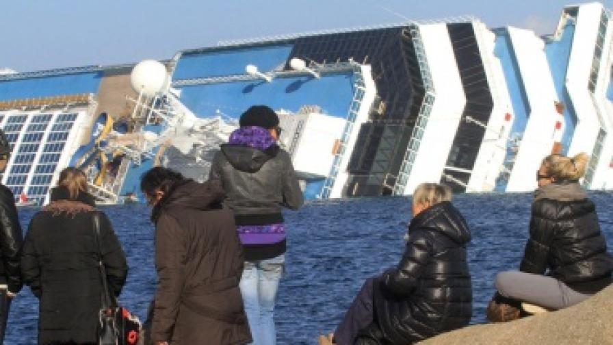 Потъналият кораб: Признаха за грешки на капитана