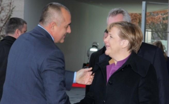 Меркел на Борисов: Скоро ще сте в Шенген
