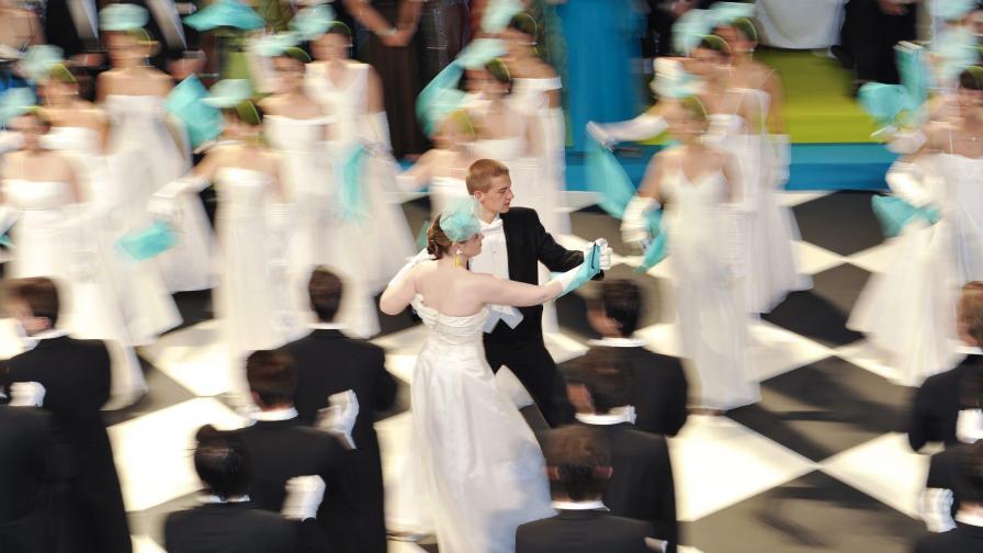 Във Виена: 450 бала и над 2000 часа танци за една година