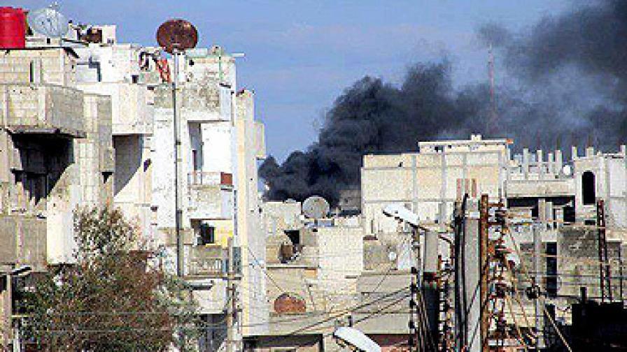 Репресиите в Хомс продължават