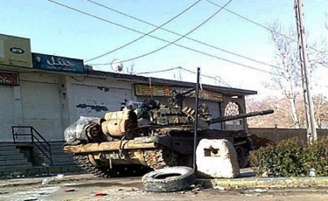 Още по-ожесточени бомбардировки над Хомс