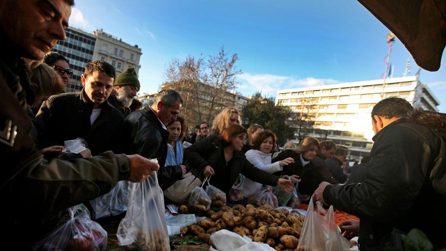 "В Гърция се заражда ""картофено движение"""