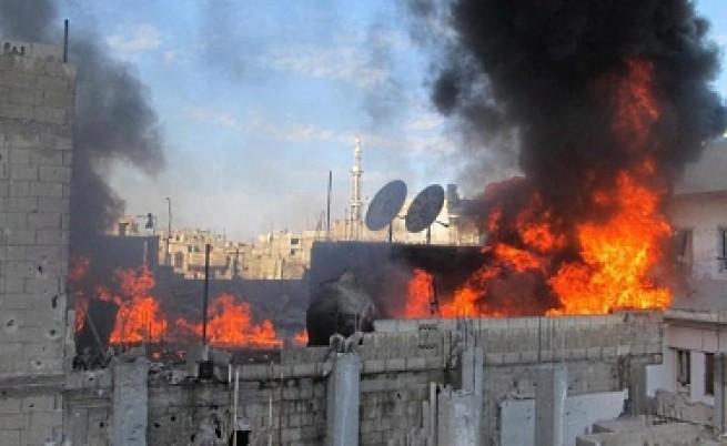 Сирийските сили прочистват Хомс къща по къща
