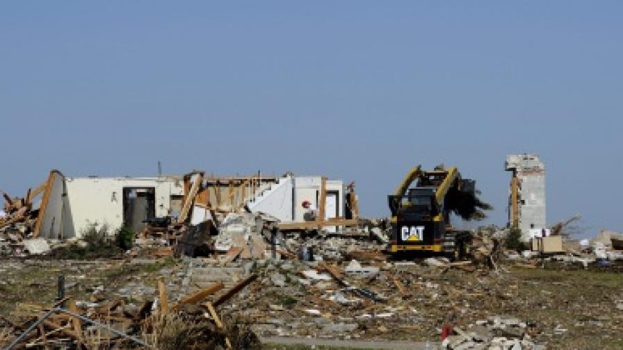 Девет жертви на серия бури в САЩ