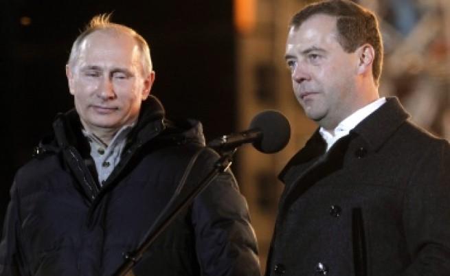 Очаквано: Путин спечели още на първия тур