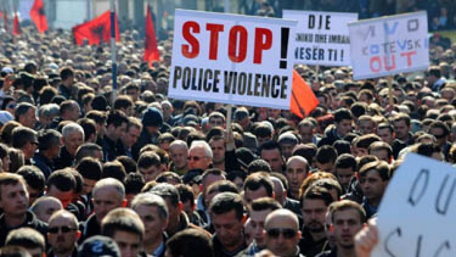 Нови етнически сблъсъци в Македония