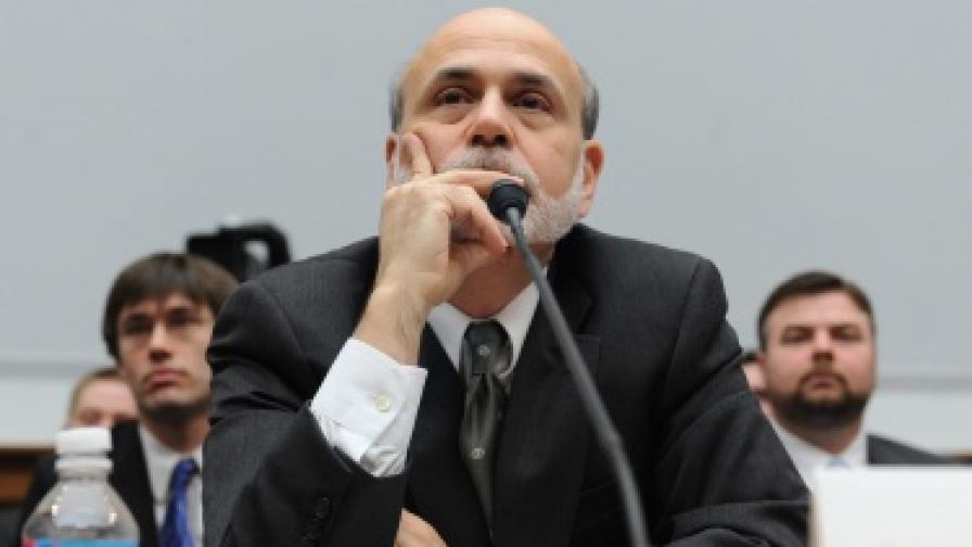 Бен Бернанке, шефът на Федералния резерв