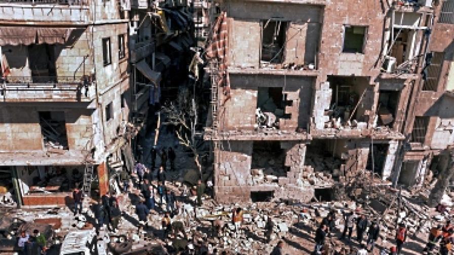 Ожесточени боеве в сирийската столица