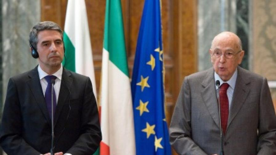 Италия ни подкрепя за Шенген