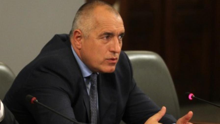 Борисов: Искаме да внасяме газ от Грузия