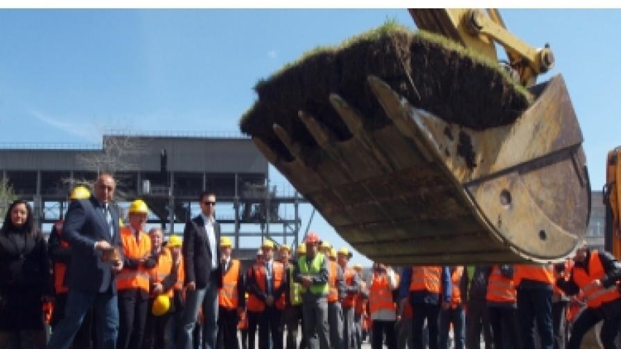 """В Девня започна изграждането на нова производствена линия за клинкер и цимент в """"Девня Цимент"""" АД"""