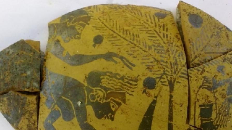Антични еротични рисунки намериха в Созопол