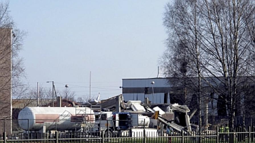 Взрив в норвежки завод, има загинал и изчезнали