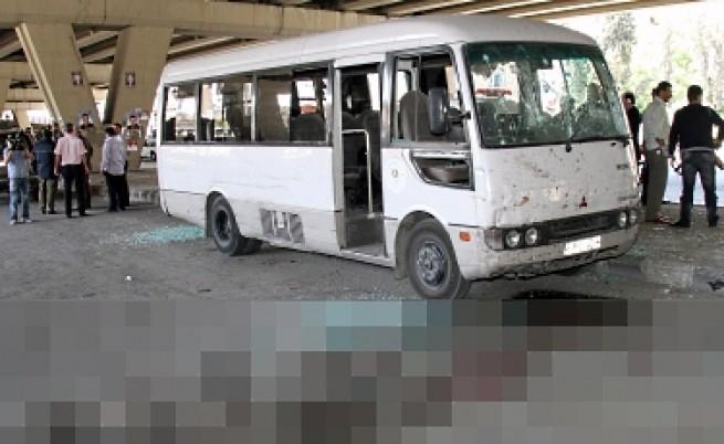 Самоубийствен атентат в централен Дамаск