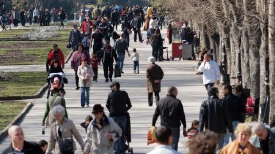 Населението на България - 1.5% от населението на ЕС