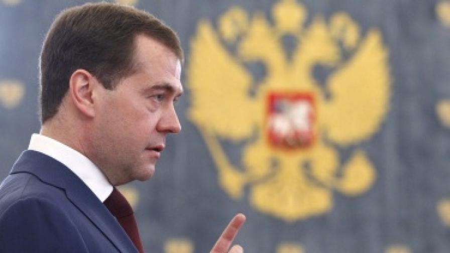 Медведев: Невидим президент