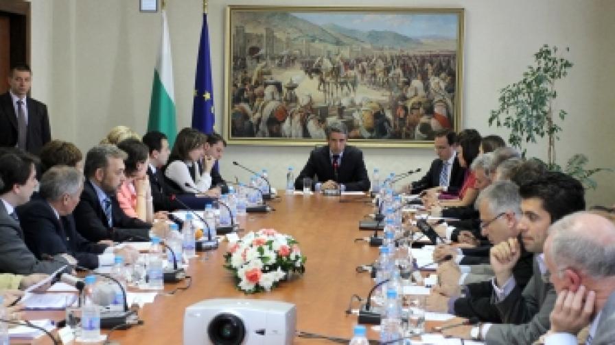 Президентът Плевнелиев открива първото заседание на новия Съвет за икономическо развитие и социални политики