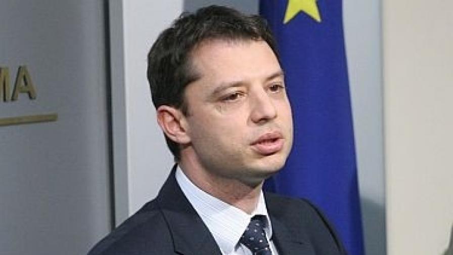 Делян Добрев, министър на икономиката, енергетиката и туризма
