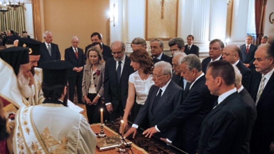 Служебният кабинет на Гърция отказа заплата