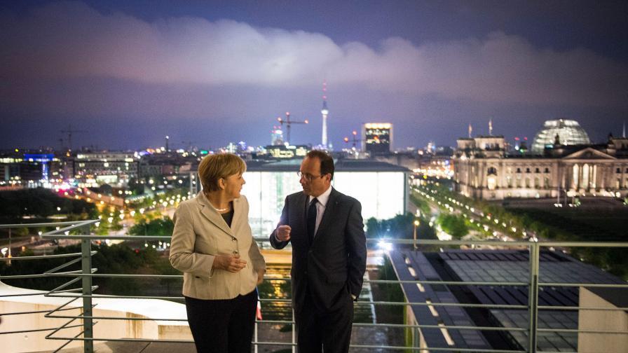 Колко получават на месец европейските ръководители